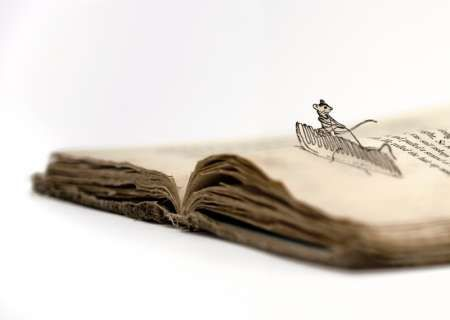 art from books