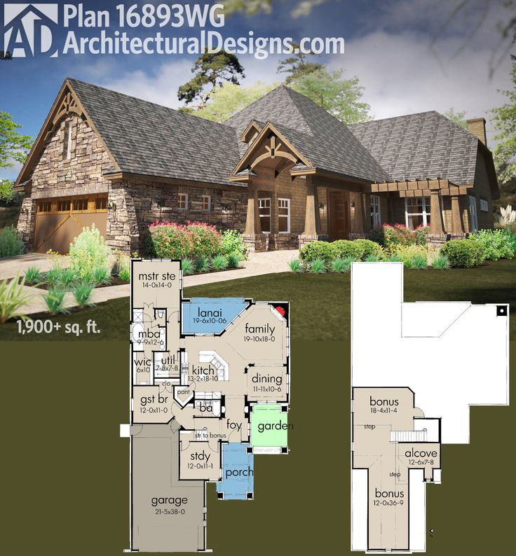 Plan 16893wg narrow rugged house plan with rear lanai for Cost to build a lanai