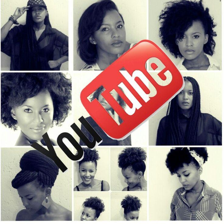 Misspeaches1000, Natural hair South Africa