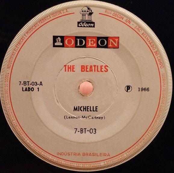 The Beatles Michelle Yesterday The Beatles Beatles Singles Beatles Records