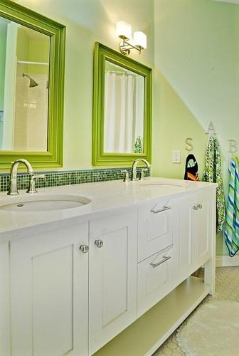 Kid's Bath - contemporary - bathroom - boise - Judith Balis
