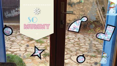 Atelier de d coration n 5 cr er des vitraux de r cup pour d corer vos vitres diy jeux - Jeux de chambre een decorer ...