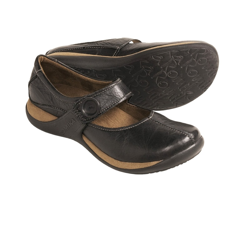 Romika Milla 18 Mary Jane Shoes - Leather (For Women) in Black