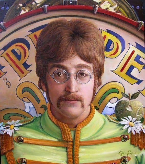Amazing John Lennon Art by John Payne
