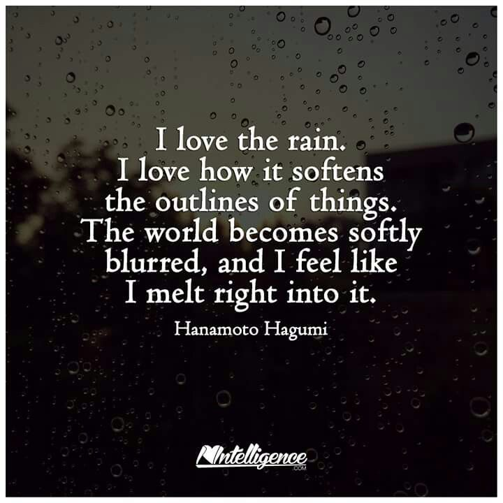 I Love Rainy Days: 25+ Best Rainy Weather Quotes On Pinterest