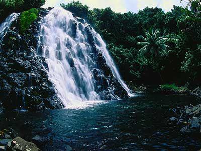 Kepirohi Waterfall, Pohnpei, Federated States of Micronesia
