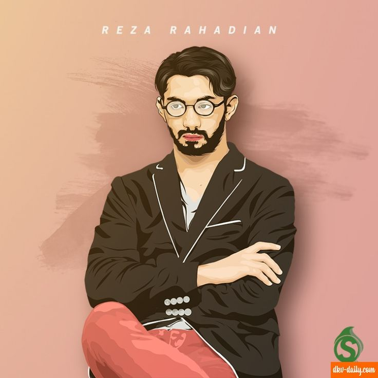 Reza Rahadian Vector
