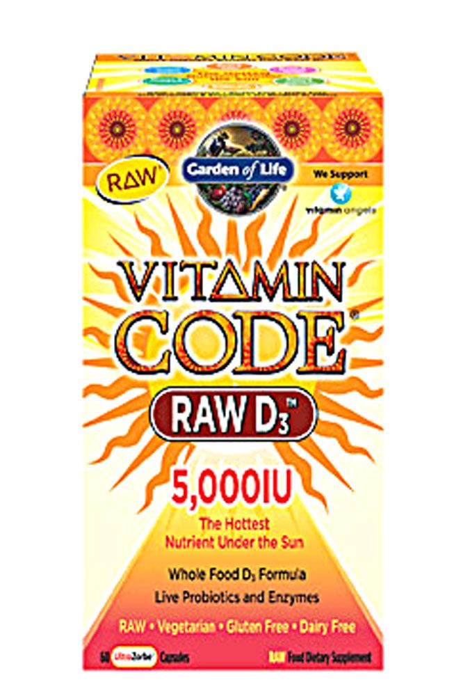 Garden of Life Vitamin Code® RAW D3 Vitamins made without fillers. Could be the cause of stomach pains.