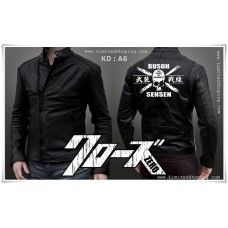 JAKET KULIT CROWS ZERO - TFOA GENERATION 4th