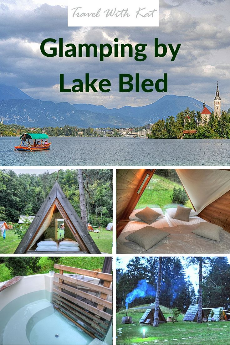 A magical night spent glamping by Lake Bled in Slovenia. Follow the link to see more photos and to read all about it. I even had my own hot tub!