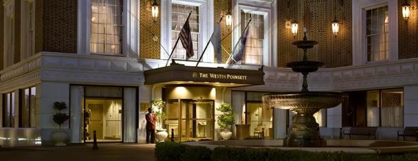 The Westin Poinsett Hotel in Greenville, SC