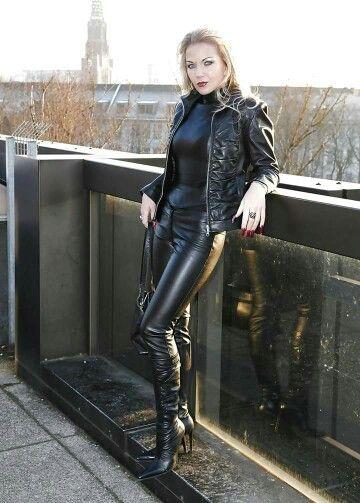 anal black latex leggings