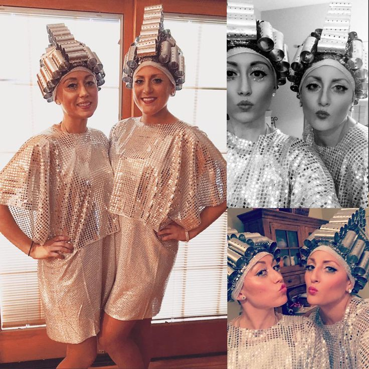 Beauty School Drop Out from Grease Halloween Costume Homemade! @emneux @ohmykaylee #beautyschooldropout #grease #costume #halloween #greasecostume #frenchie #frenchy #DIY #homemade