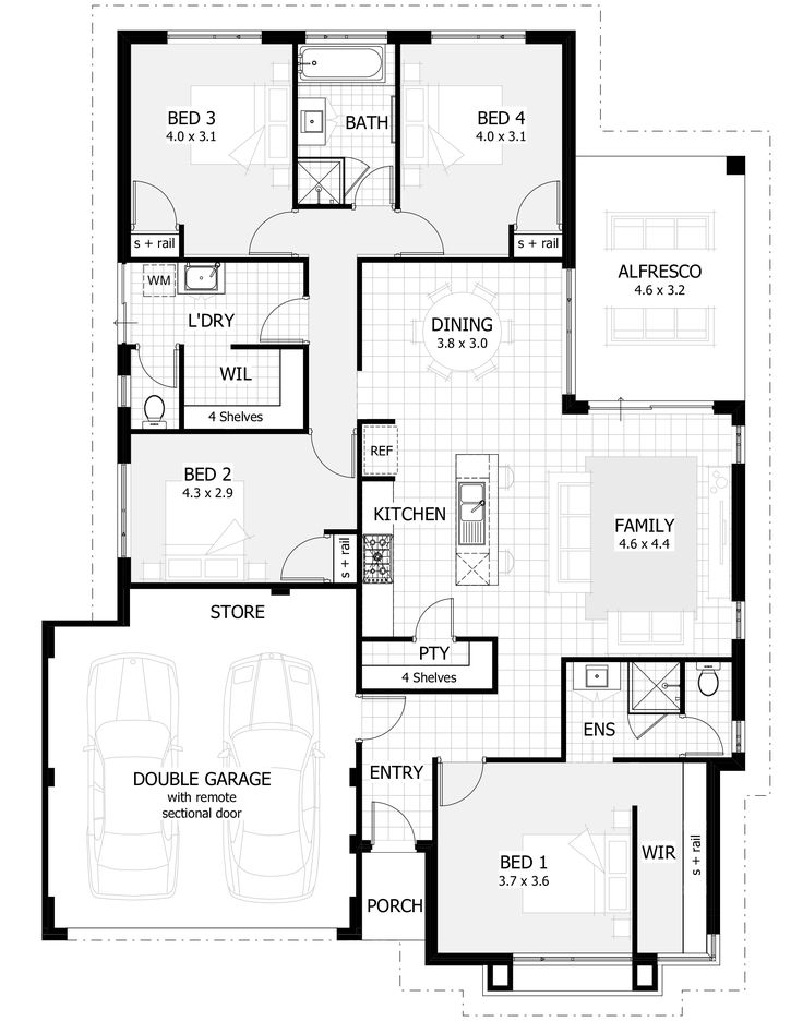Westwood Floor Plan- 15m design