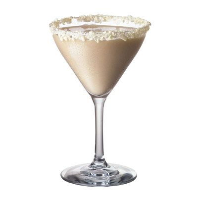 Ghost   1 1/4 oz Smirnoff Vanilla Flavored Vodka  1/4  oz Godiva White Chocolate Liqueur  1/4 oz half and half  1/4 oz simple syrup  1 tsp grated white chocolate