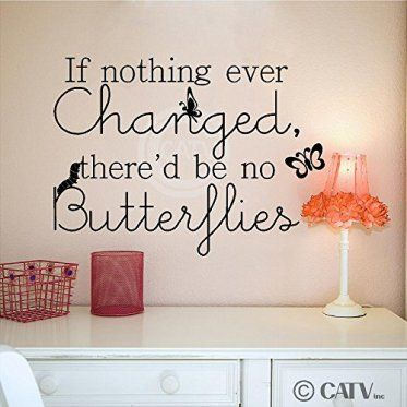 If Nothing Ever Changed   Butterfly Bathroom Decor  #butterflies #bathroom