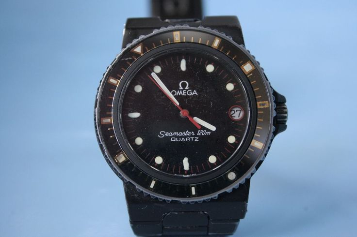 OMEGA seamaster 120 electronic date cal. 1332 17 jewels VERY RARE WORKING