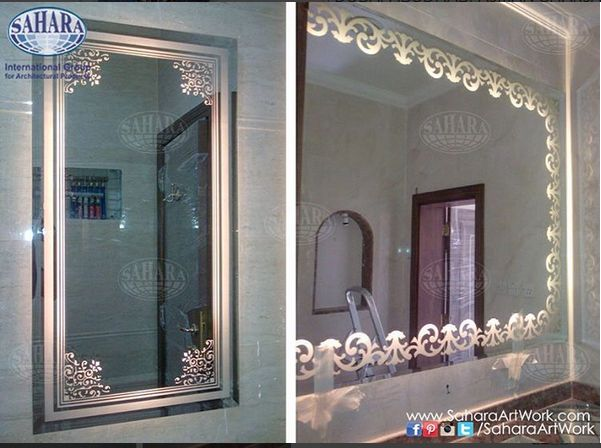 Customize Your Vanity Mirrors To Suit The Style And Colors Of Bathroom Interiors