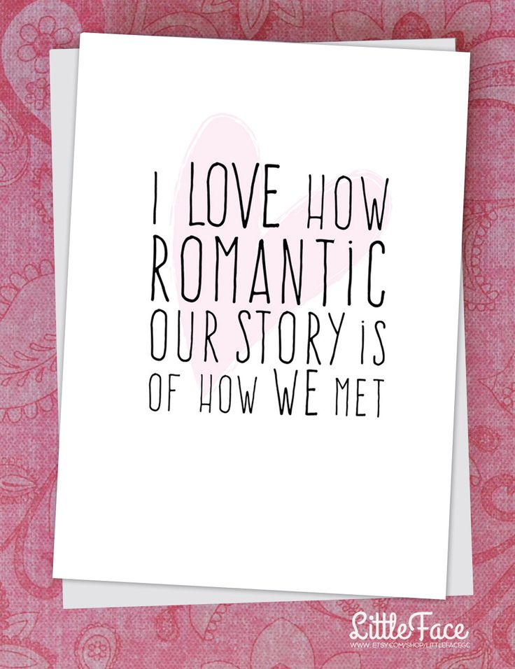 funny valentines day card for husband wife boyfriend or girlfriend love story - Etsy Valentines Day Cards