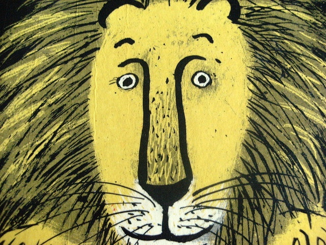Roger Duvoisin - for The Happy Lion's Quest by Louise Fatio