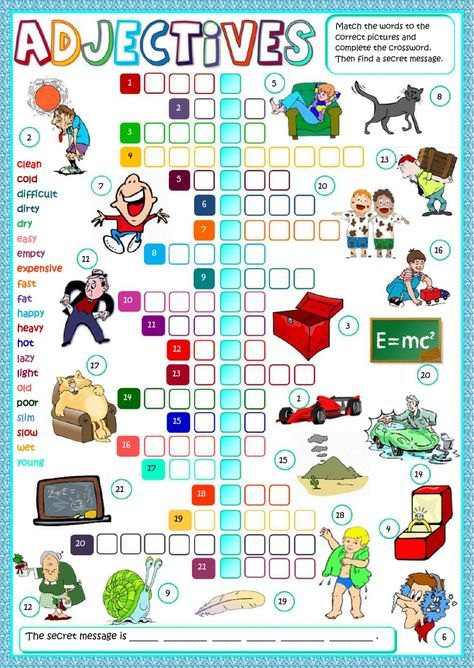 Adjectives interactive and downloadable worksheet. Check your answers online or send them to your teacher.