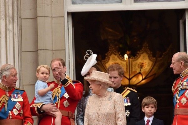 Kate Middleton Photos - Prince George Attends the Trooping of the Colour for the First Time - Zimbio