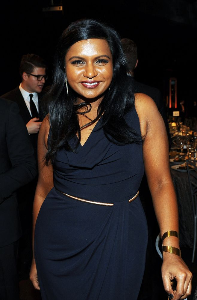 Mindy Kaling loves clothes and it shows! Her TV show is a hoot.