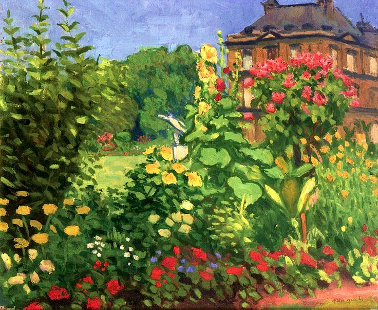 Luxembourg Garden Albert Marquet