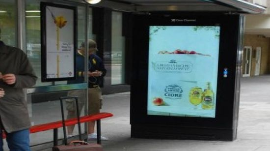 STELLA ARTOIS CIDRE  The latest UK ad campaign of drink brand Stella Artois Cidre consists of ads that will only appear when there's a 2-degree rise in temperature above the national average. The ads turns on and off based on real-time readings from a weather data plug-in.
