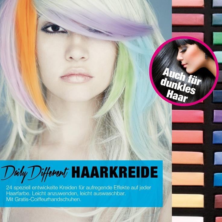 <3 DailyDifferent Haarkreide 24 Farben Set Hairchalk: Amazon.de: Küche & Haushalt