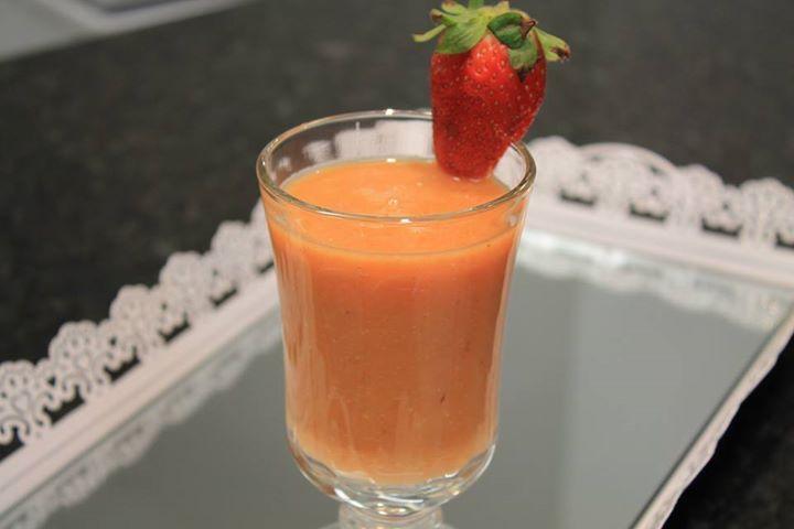 Suco de cenoura anticelulite