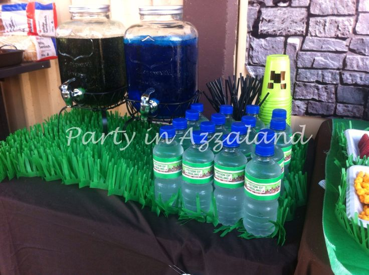 Minecraft drinks table