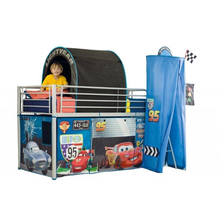 La tente de lit Cars fera du lit de votre enfant un vrai terrain de jeu !  http://www.bebegavroche.com/tente-de-lit-enfant-cars-disney.html