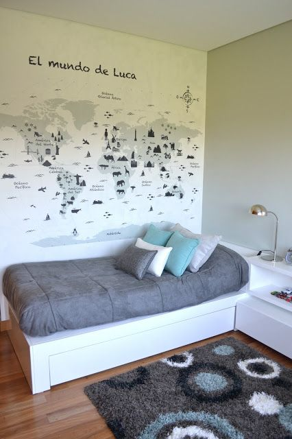 Dulce Cattaneo - Diseño de Interiores: Proyecto Hudson - Habitacion Luqui