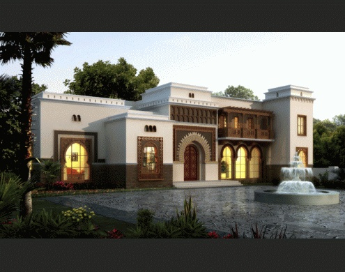 17 best images about moroccan house on pinterest villas for Moroccan house plans