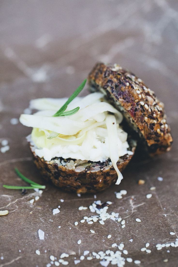 Paleo Bread + Quick Pickled Fennel | bites | Pinterest