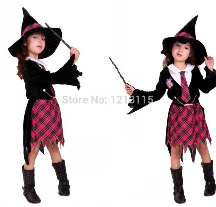 安い送料無料子供魔女ハロウィン衣装の女の子子供魔女コスプレマジシャンユニフォームゲームコスプレマジシャン、購入品質エキゾチック アパレル、直接中国のサプライヤーから:Free shipping Children's Halloween Costumes Girls Pirate Robin Hood Costume Kids Pirate Robin Hood Cosplay game uniforms