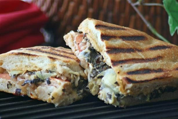 Panera Bread's Turkey Artichoke Panini | Recipe