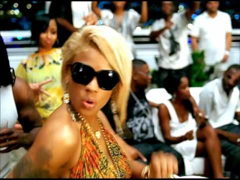 Keyshia Cole - Shoulda Let You Go ft. Amina because that cropped white pants/beach top look is sick to death.