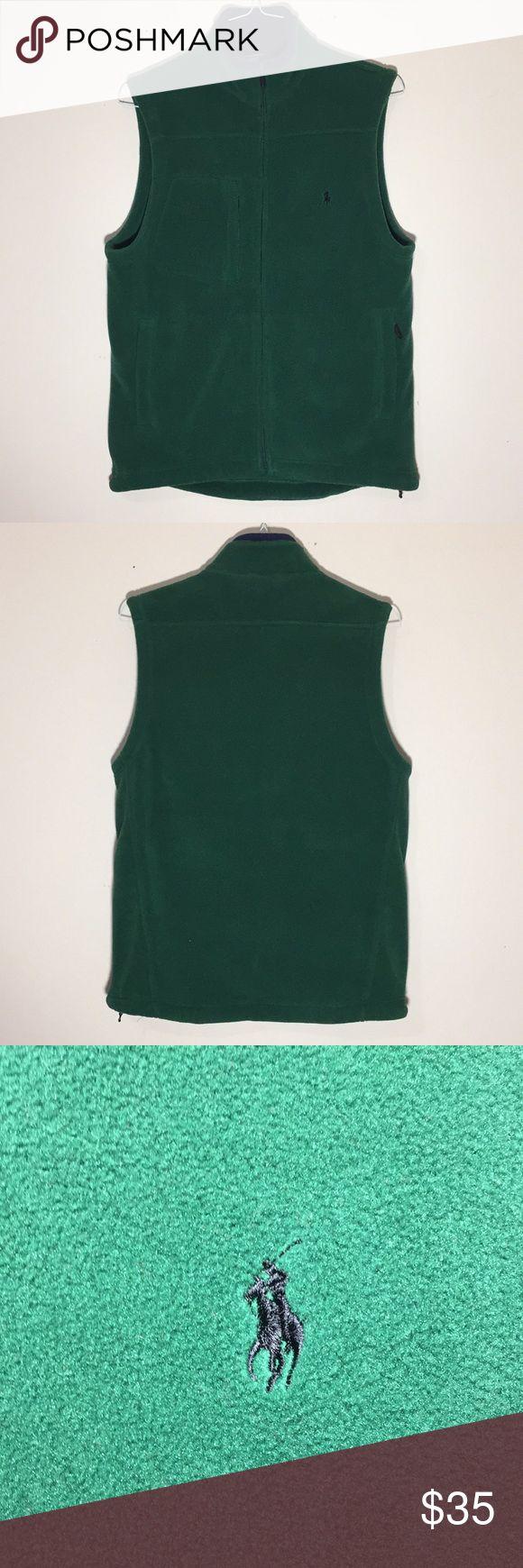 🔥Vintage 1990s Ralph Lauren Fleece Vest Good Condition  IF YOU BUNDLE, I WILL…