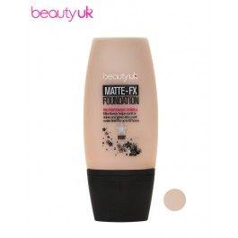 Beauty UK Matte FX Foundation Ivory meikkivoide