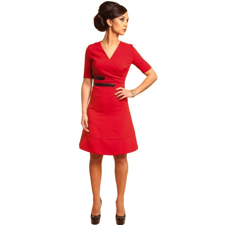 Super Red Work Dresses