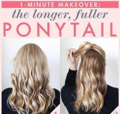 Cute Easy Ponytail Hairstyles for Long Hair