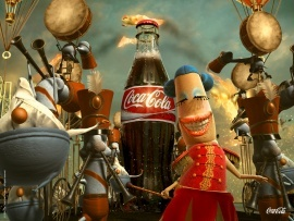 Coca-Cola happiness factory.