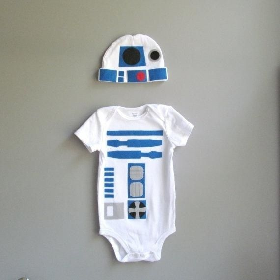 36 adorable onesies for all these babies that are coming along! // R2-D2 from Star Wars