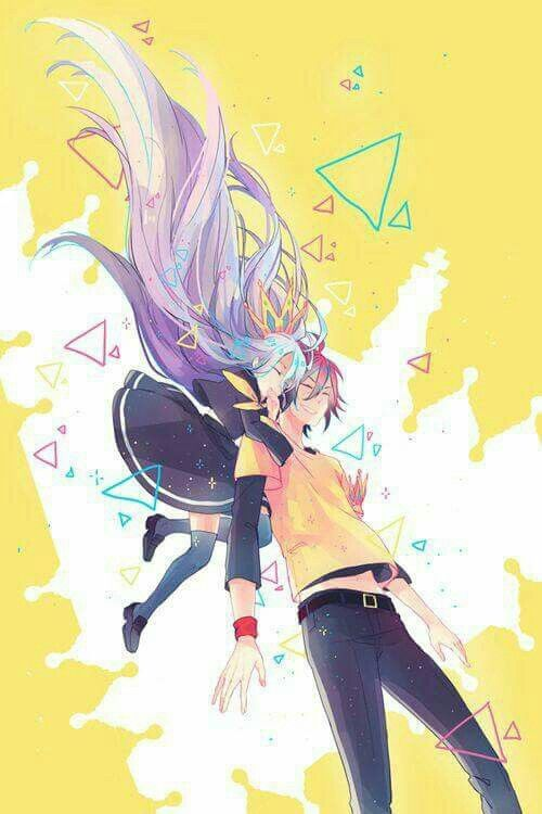 #shiro #sora #nogamenolife #anime