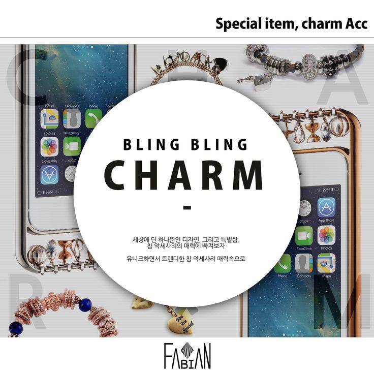 FABIAN STYLE :) bling bling CHARM item ! fabifabi *