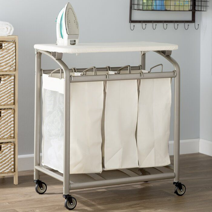 Laundry Sorter Hamper With Folding Table Laundry Sorter Folding