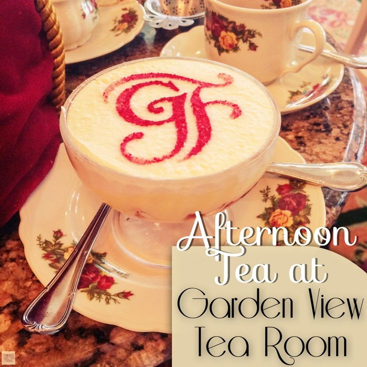 Afternoon Tea At Grand View Tea Room Review Disney Resorts And The Magic