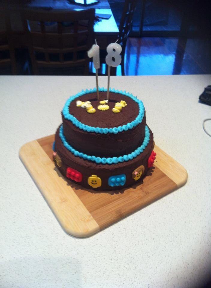 Lego baby cake